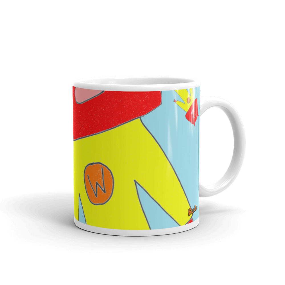 Mug: Captain Wassock Is Confused (Blue) - Benbo Global Megastore