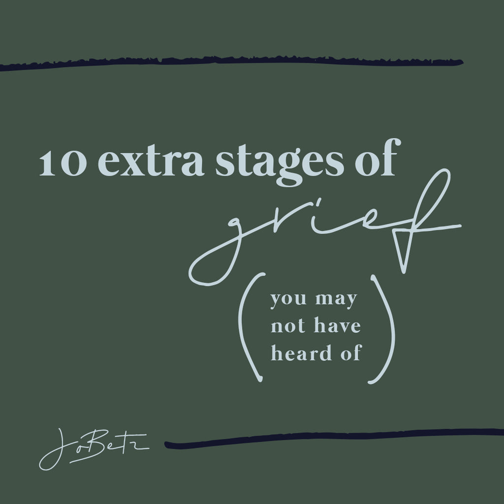 10 EXTRA STAGES OF GRIEF
