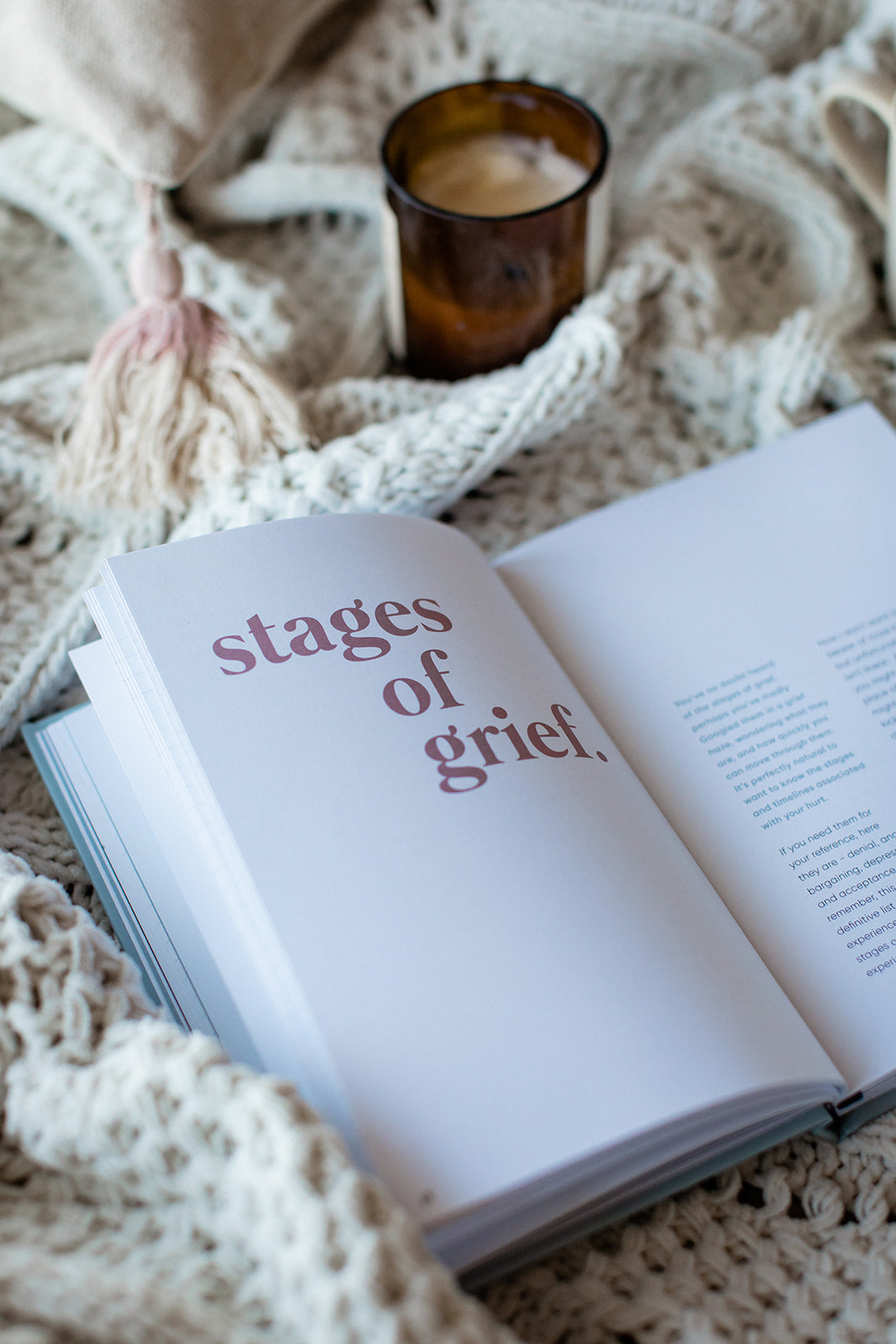 Grief - a guided journal by Jo Betz