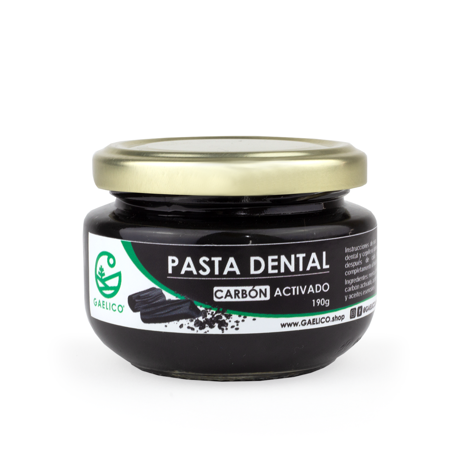 PASTA DENTAL DE CARBÓN ACTIVADO