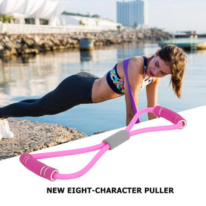 8 Word Rubber Resistance Bands