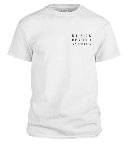 BBA White Short Sleeve T Shirt