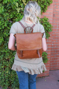 Ampere Creations - Carolina Backpack - Brown