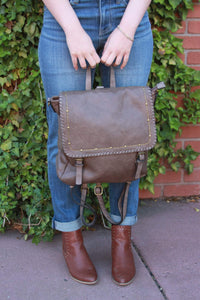 Ampere Creations - Carolina Backpack - Taupe