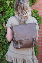 Load image into Gallery viewer, Ampere Creations - Carolina Backpack - Taupe