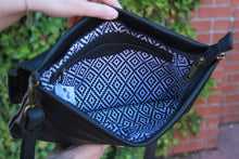 Load image into Gallery viewer, Ampere Creations - Savannah Foldover Crossbody - Black