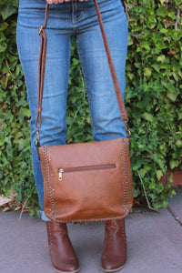 Ampere Creations - Shelby Crossbody - Brown