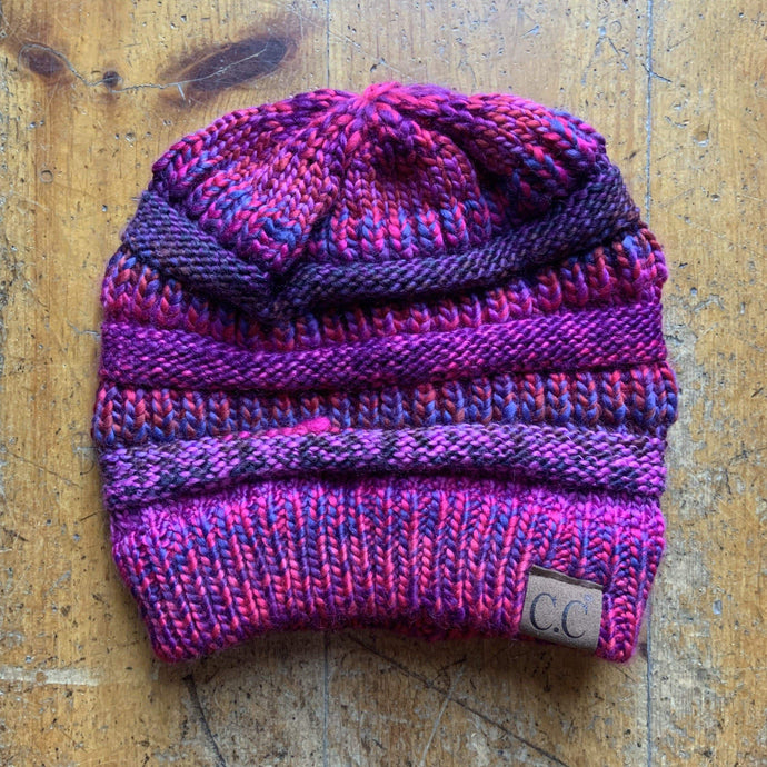CC CC Beanies CC Beanie - Thread Mix - Fuchsia/Purple Multi