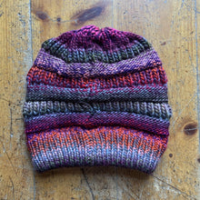 Load image into Gallery viewer, CC CC Beanies CC Beanie - Thread Mix - Grey/Purple Multi