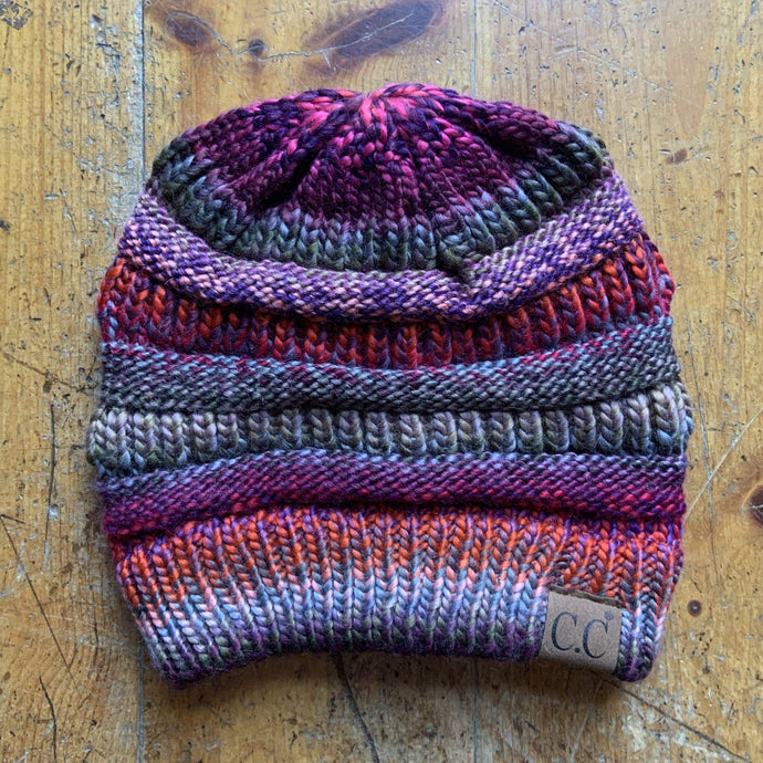 CC CC Beanies CC Beanie - Thread Mix - Grey/Purple Multi