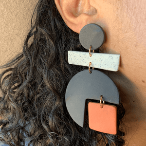 EnergynSoul Earring - Colorblock Dion Dangle