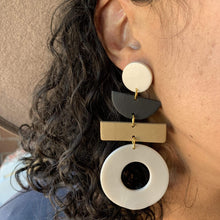 Load image into Gallery viewer, EnergynSoul Earring - Four Tier Giovanna