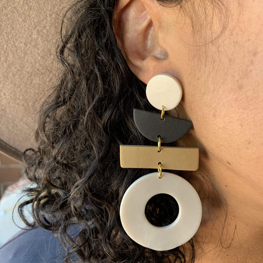 EnergynSoul Earring - Four Tier Giovanna