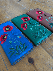 Long Stem Floral Wallet