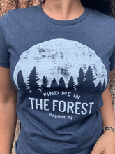 Load image into Gallery viewer, Find Me In The Forest Tee - Navy