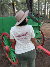 Load image into Gallery viewer, Flagstaff Peaks & Pines Tee - Oatmeal
