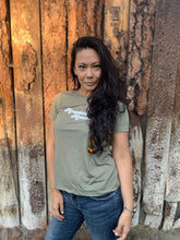 Load image into Gallery viewer, Mountain Momma Tee - Olive