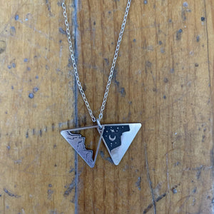 The Bearded Jeweler - Layered Mountains Necklace