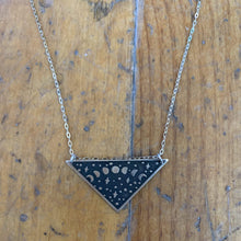 Load image into Gallery viewer, The Bearded Jeweler - Moon Phases Triangle Necklace