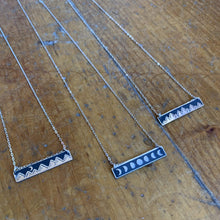 Load image into Gallery viewer, The Bearded Jeweler - Treeline Horizontal Bar Necklace