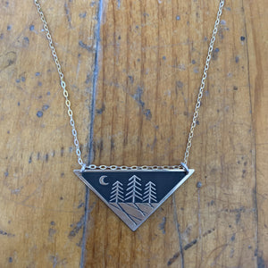 The Bearded Jeweler - Zen Night Forest Necklace
