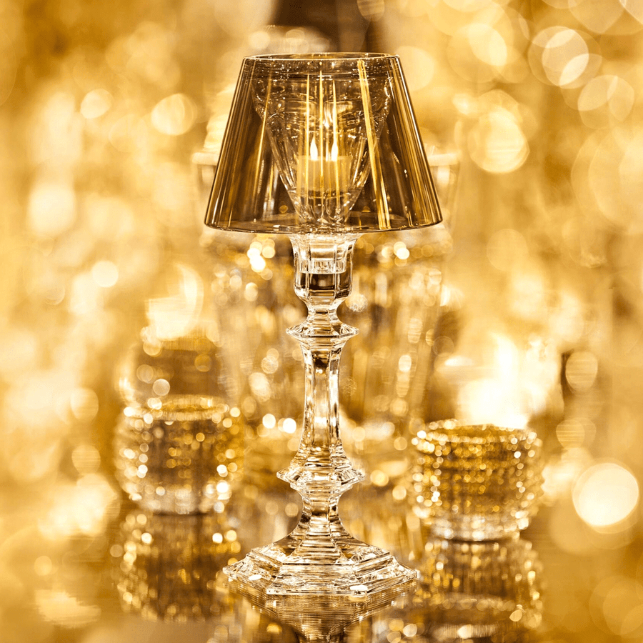 HARCOURT OUR FIRE CANDLESTICK GOLD