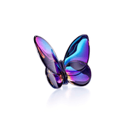 Baccarat Pisapapeles PAPILLON LUCKY BUTTERFLY BLUE SCARABEE