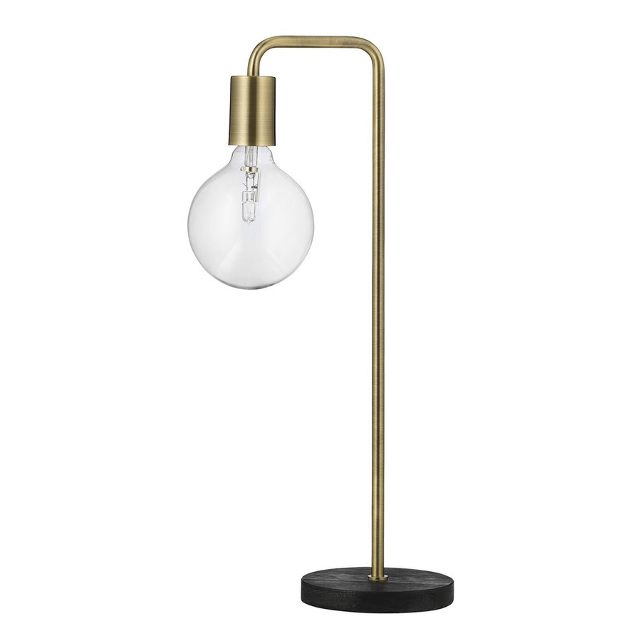 COOL TABLE LAMP ANTIQUE BRASS