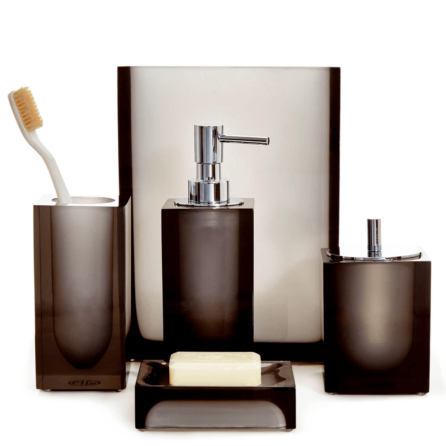 Jonathan Adler Accesorios de baño HOLLYWOOD SOAP DISPENSER SMOKE