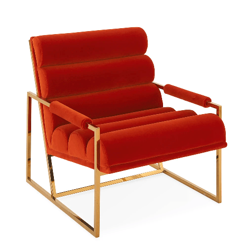 Jonathan Adler Butacas CHANNELED GOLDFINGER LOUNGE CHAIR
