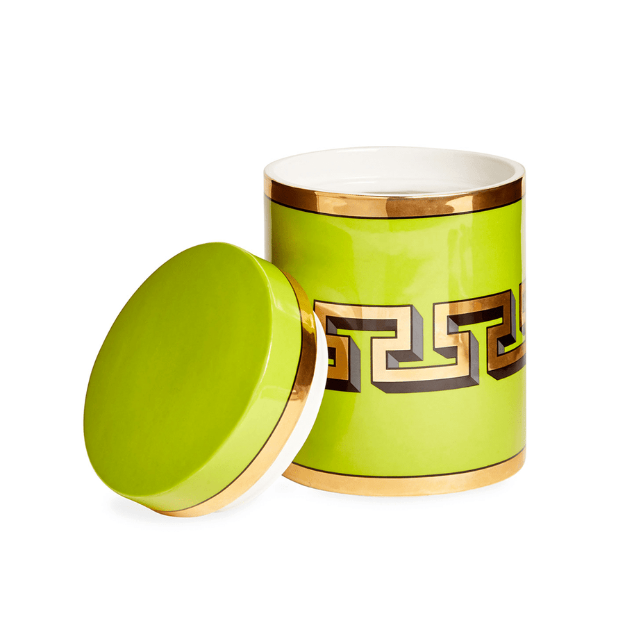 MYKONOS CANISTER GREEN