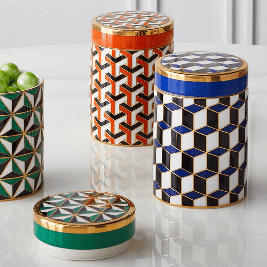 VERSAILLES CANISTER BLUE