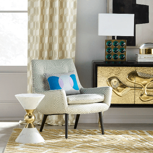 CANAAN ACCENT TABLE WHITE