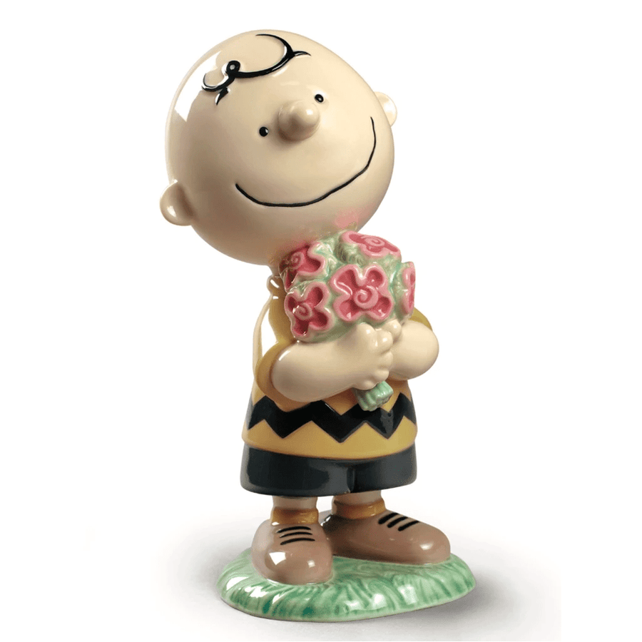 CHARLIE BROWN PORCELAIN FIGURINE