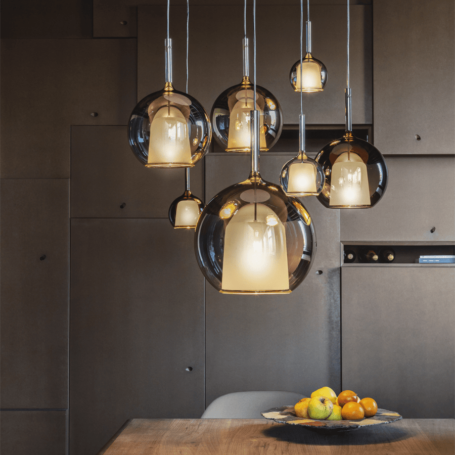 GLO MEDIUM PENDANT GOLD