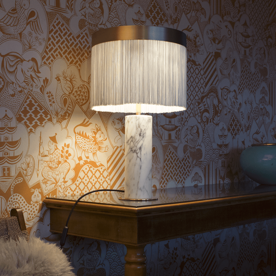 ORSOLA TABLE LAMP BRASS