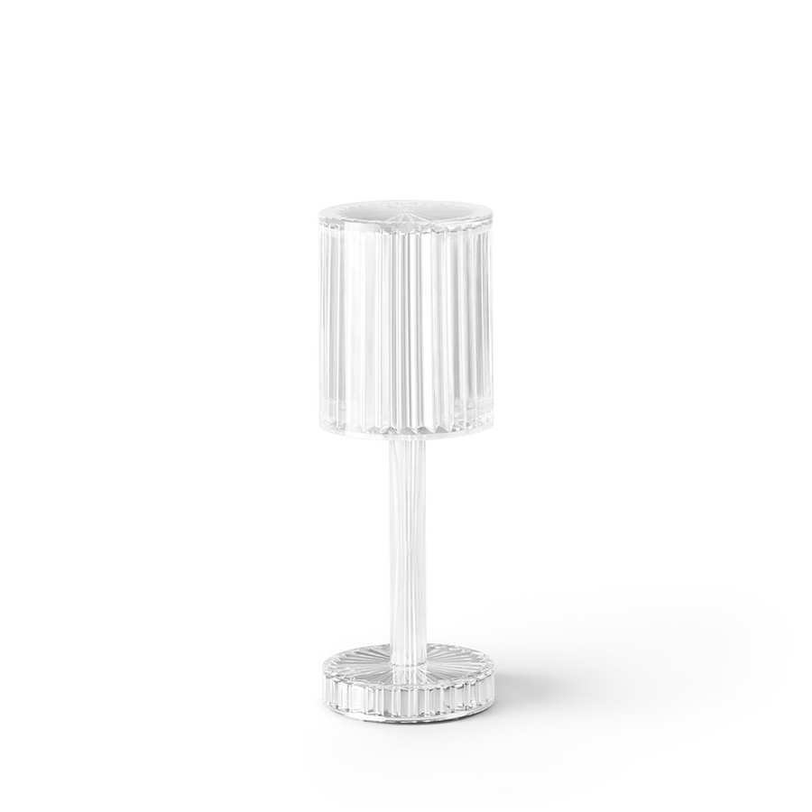 Vondom Lámpara de mesa GATSBY CYLINDER TABLE LAMP GLASS