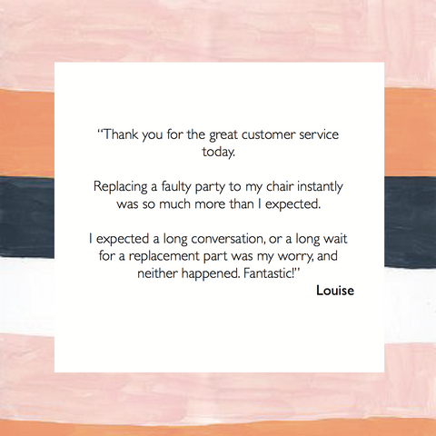 FURNISH Customer Feedback