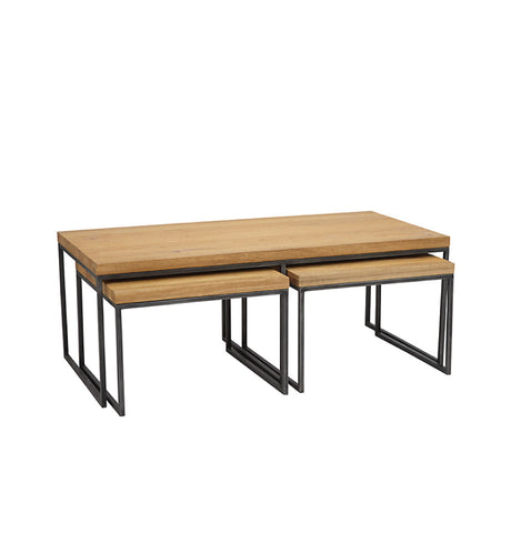Calia Small Oak Bench - 1170