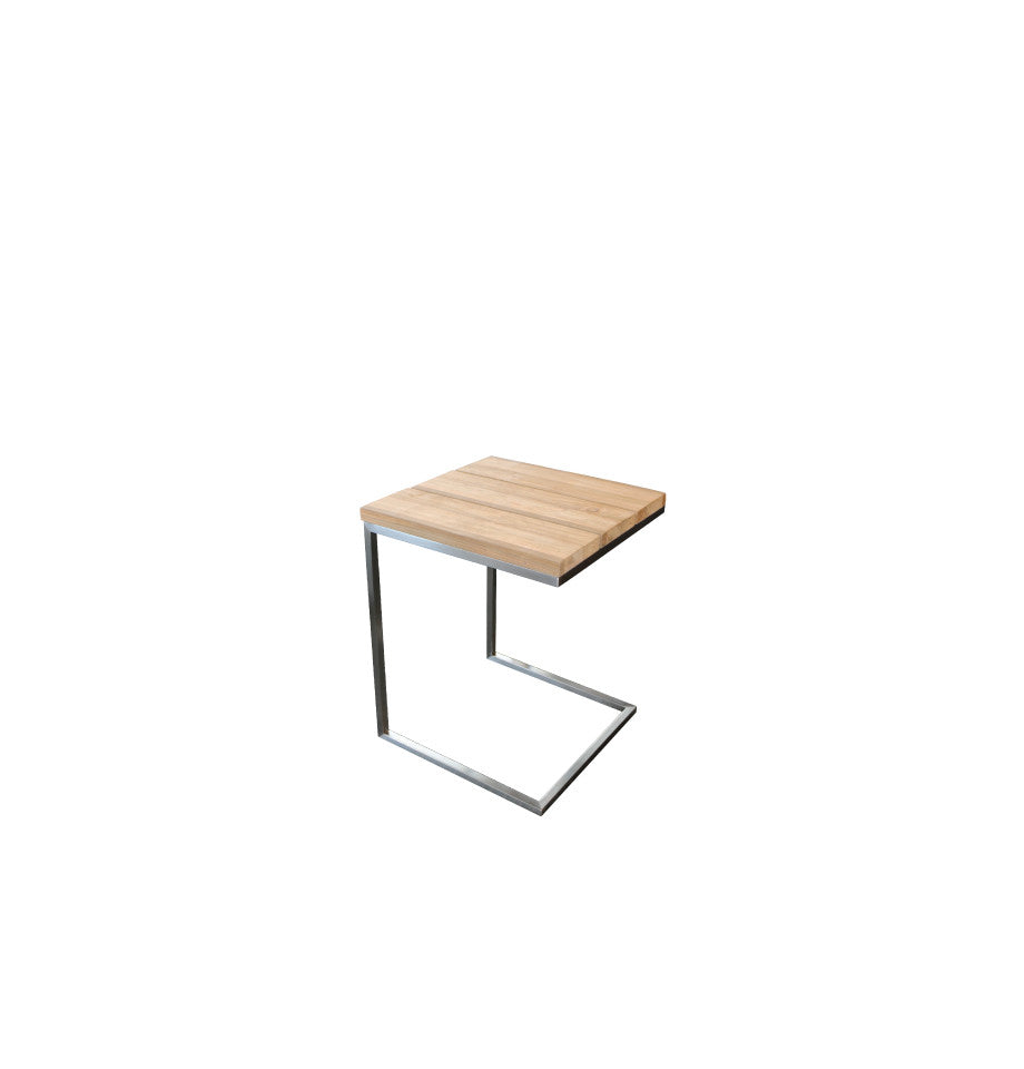Marseille Outdoor C-Table - Teak