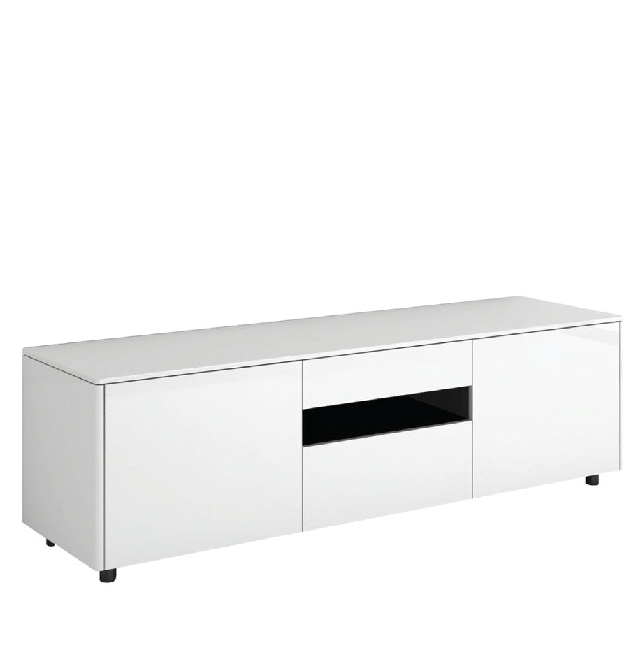 Newtown Entertainment Unit 1660 - HG White - L.1660 D.460 H.492mm - iRL16.268.106