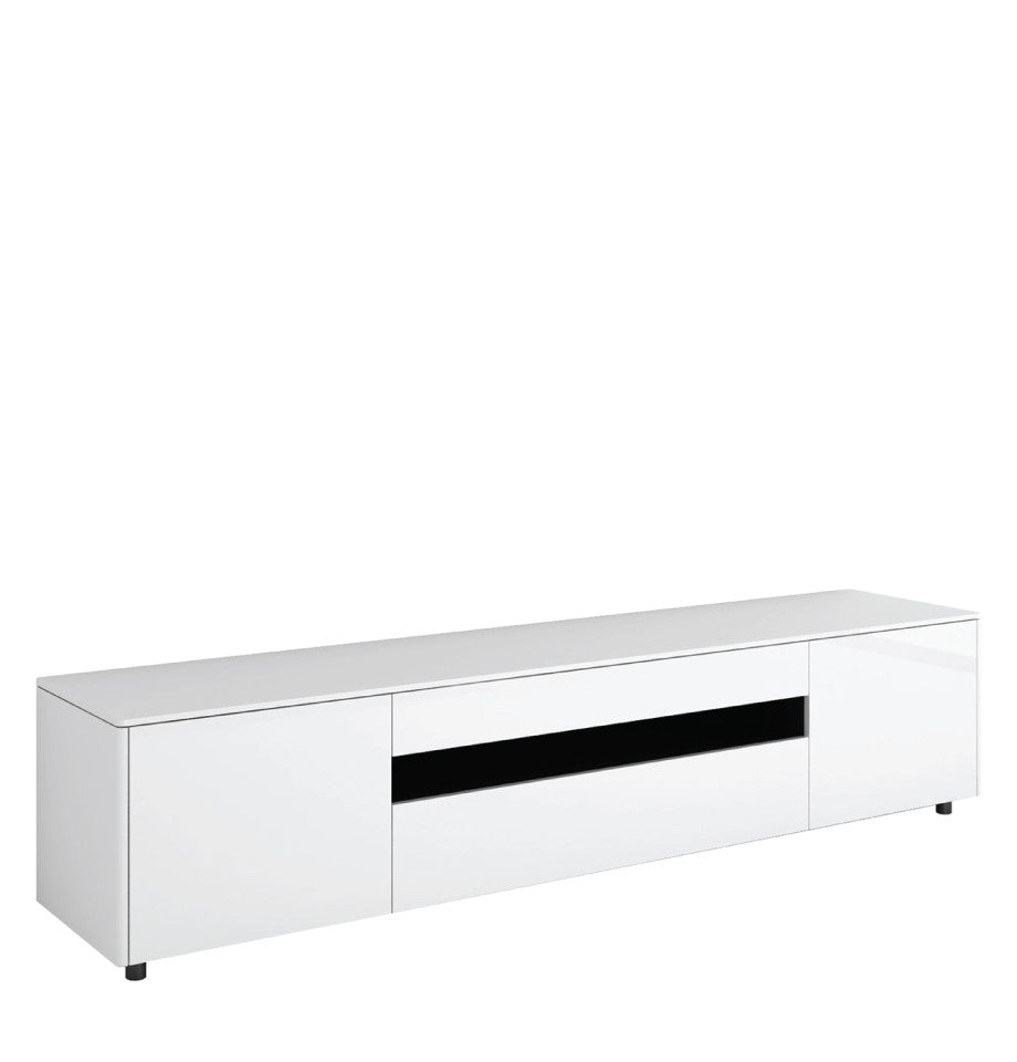 Newtown Entertainment Unit 2200 - HG White - L.2200 D.460 H.492mm - iRL22.268.106