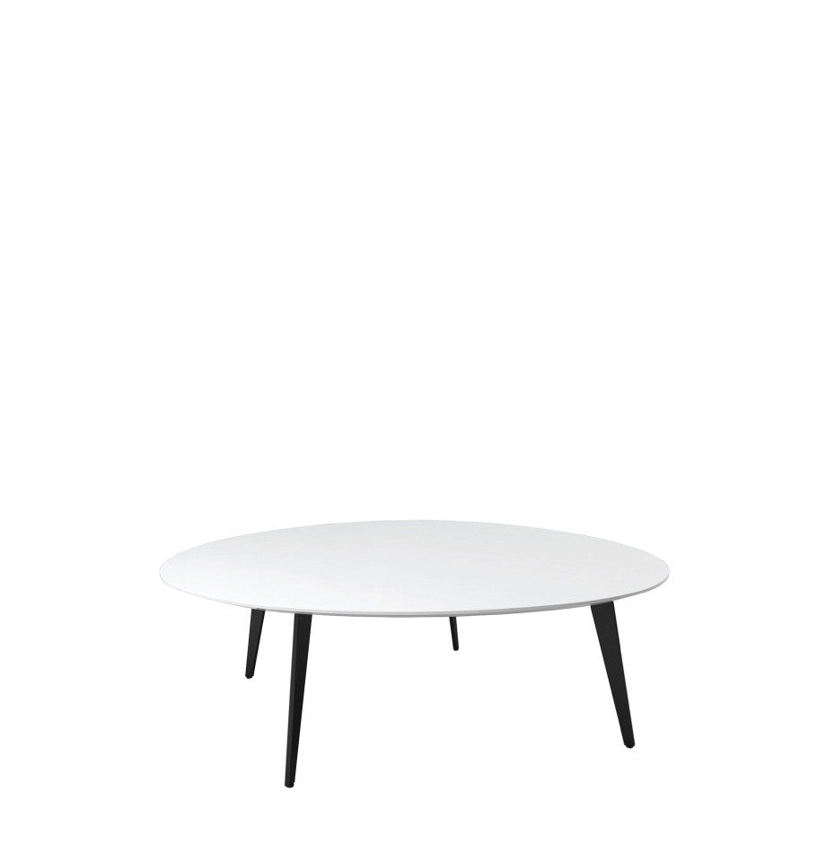 Manly Large Coffee Table High Gloss White FURNISH - Manly coffee table