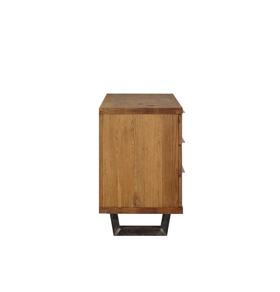 Calia Sideboard - Small - Oak & Iron