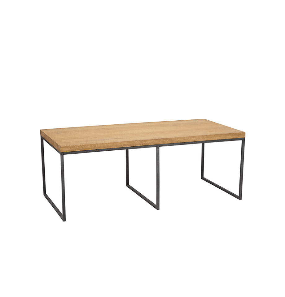 Calia Nesting Coffee Tables - Oak & Iron
