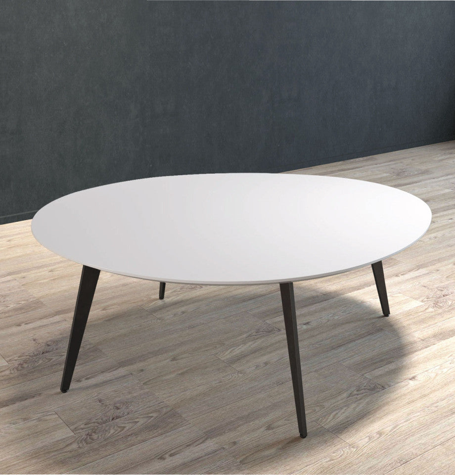 Manly Large Coffee Table - High Gloss White