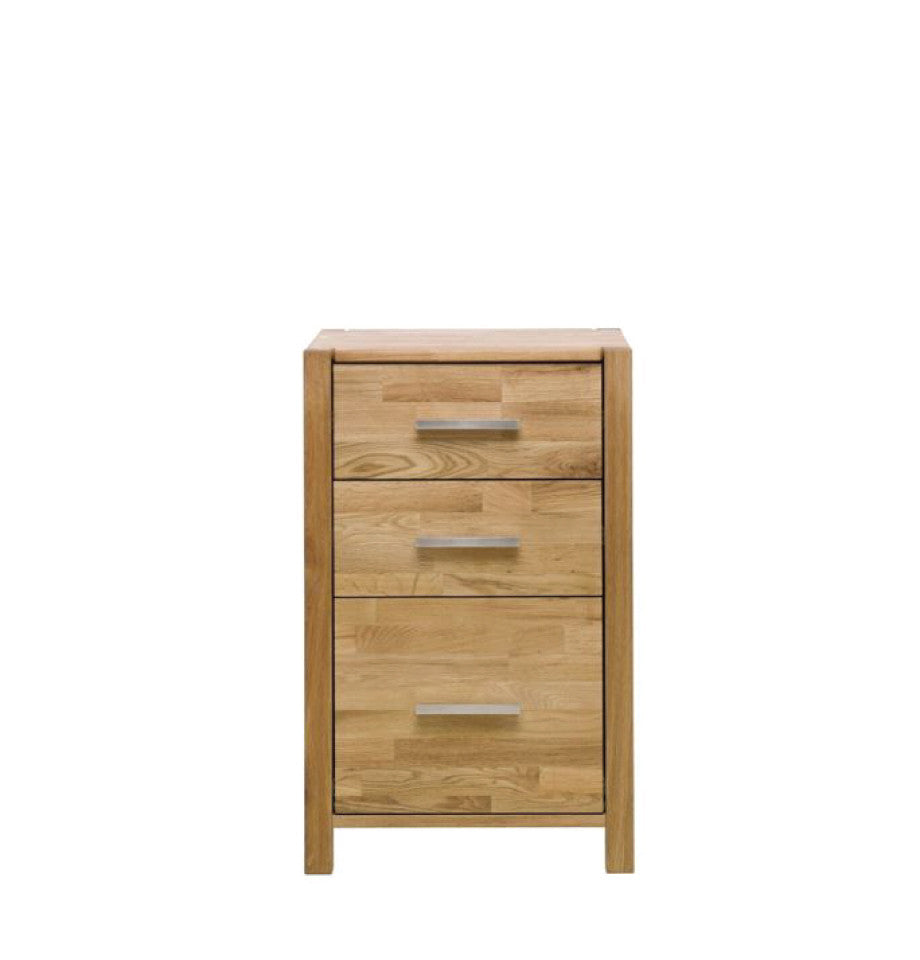 Modena Oak Chest with 2+1 Drawer