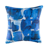 Cushion - Grid - Blue