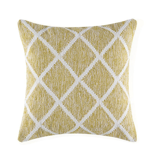 Cushion - Gridson - Yellow