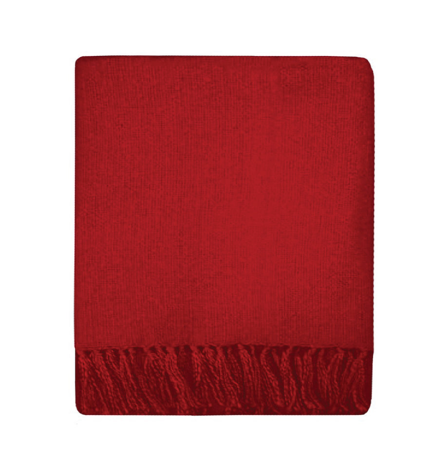 Rhapsody Throw in Red